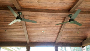 Cedar Covered Porch Ceiling from JAG Construction