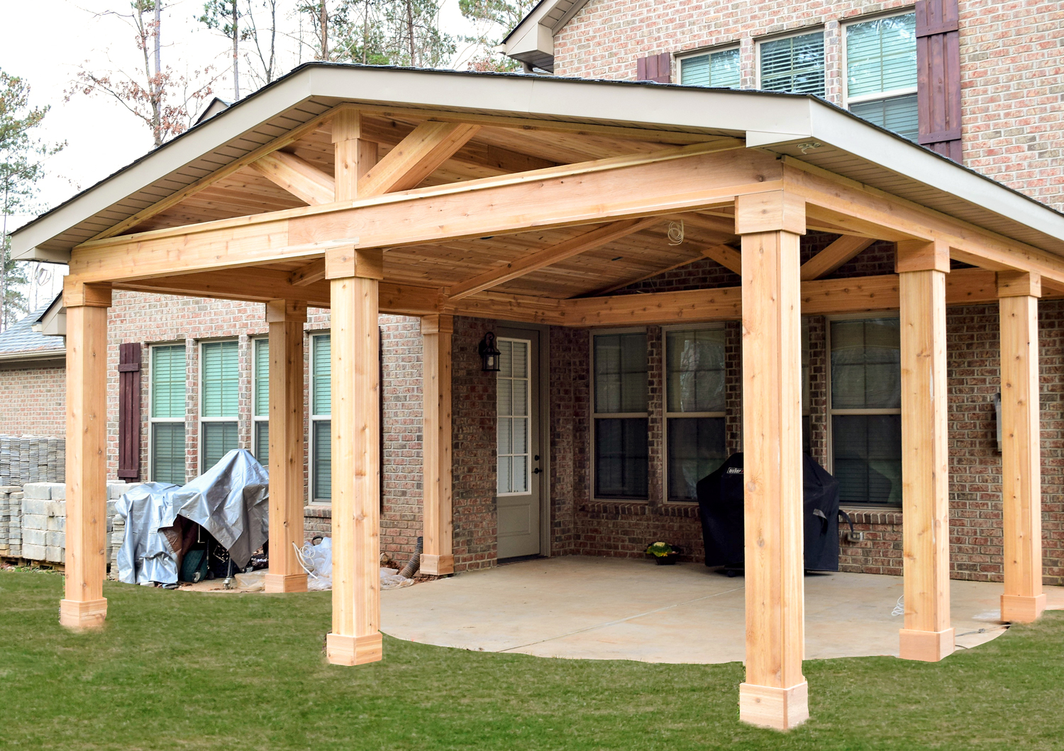 JAG Construction Covered Porch in Denver, NC