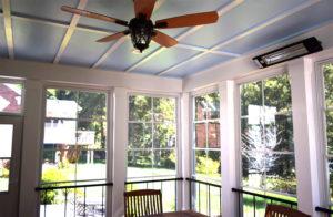 Interior EZ Breeze Screen Porch