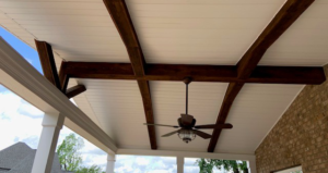 Davidson NC Covered Porch Ceiling