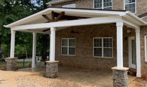 Davidson, NC Covered Porch from JAG Construction