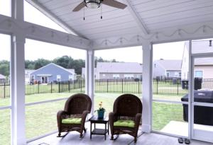 Interior, Screen Porch in Mooresville