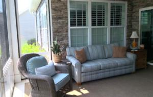 Cornelius, NC EZE Breeze Porch Interior
