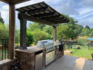 JAG Construction, Outdoor Grill Builder