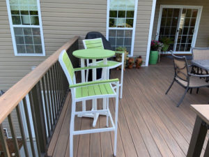 New Decking for Outdoor Living Space in Terrell, NC