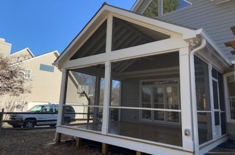JAG Construction, Screen Porch Builder