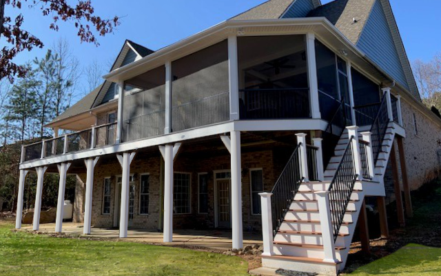 JAG Construction Screen Porch and Deck Contractor, Lake Norman