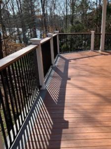 Deck Railing Renovation in Terrell, NC