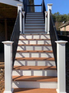 Deck Staircase Replace, Renewal from JAG Constrution