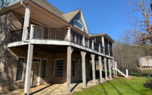 Terrell, NC Deck and Screen Porch Project