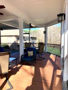 Interior Screen Porch in Terrell, NC
