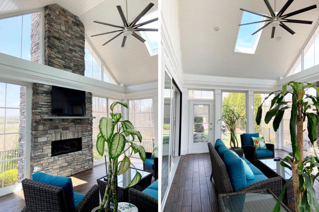 JAG Construction, Sunroom, 3 Season Room, Porch Builder, Lake Norman