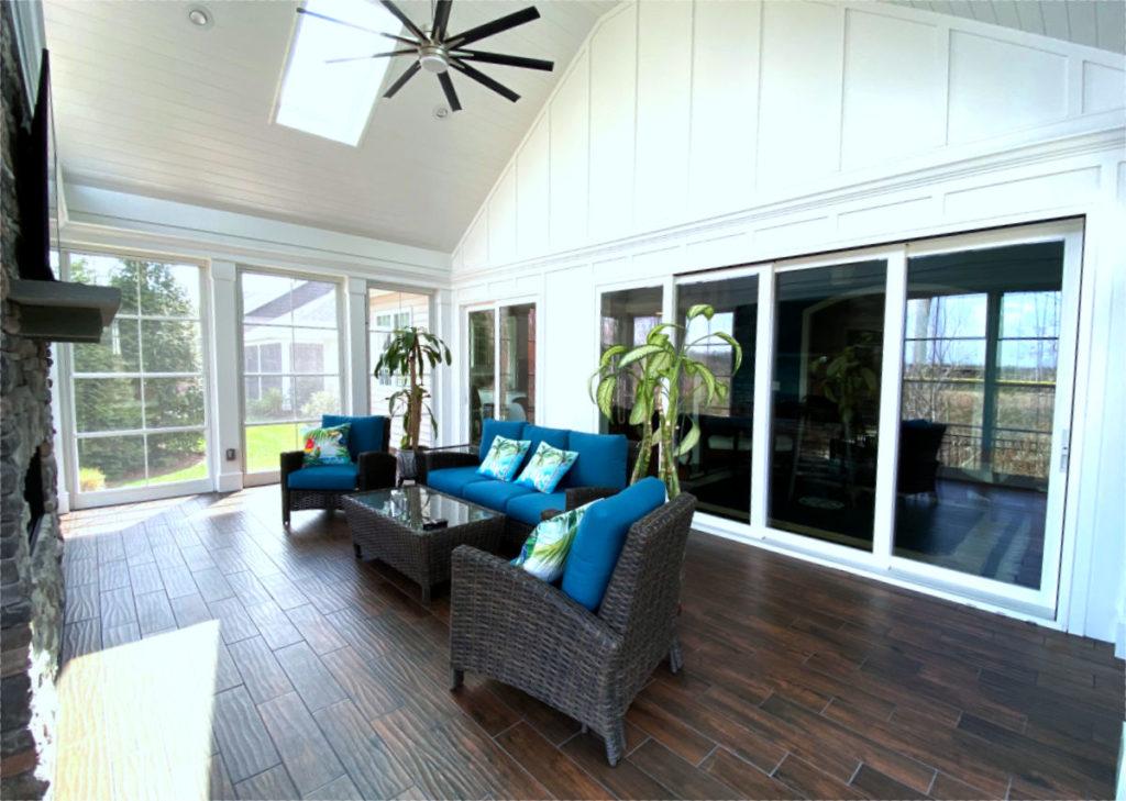 Cornelius, NC 3 Season Porch, Interior