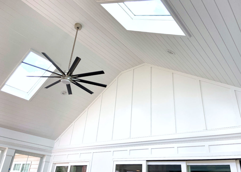 Skylight in 3 Season Porch by JAG Construction