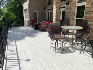 Tile Deck Builder in Lake Norman