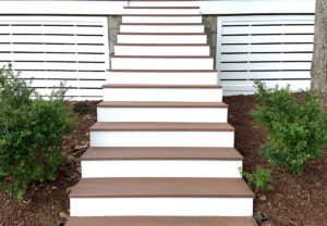 Deck Staircase for Remodel in Lake Norman