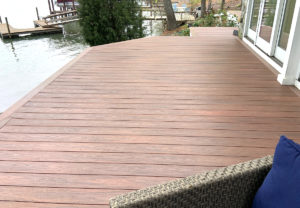 Decking Build Project in Lake Norman