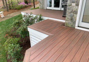 JAG Construction, Lake Norman Deck Remodel Project
