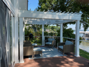 Lake Norman Pergola, Deck Project