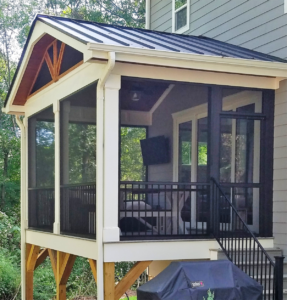 JAG Construction in Lake Norman, Porch Builder