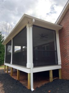 Lake Norman Screen Porch Builder