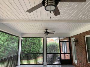 Interior, Denver NC Screen Porch