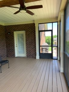 Screen Porch Flooring, Interior, JAG Construction