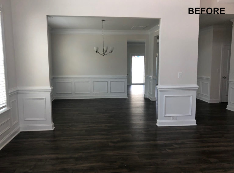 BEFORE - Room Remodel, JAG Construction