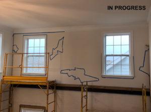 In Progress, JAG Construction Room Remodel
