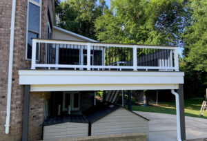 Deck Railing, Deck Contractor in Lake Norman