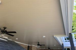 Deck Underside Ceiling, JAG Construction, Lake Norman