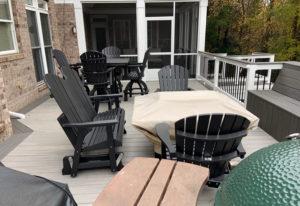 JAG Construction Patio Deck, Screen Porch